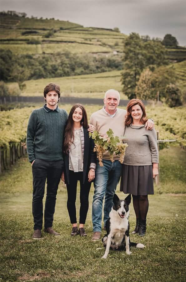 Graziano Prà und Familie