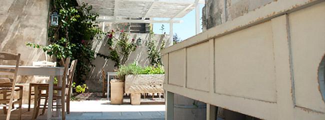 Gartenrestaurant von Menhir