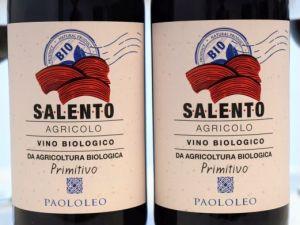 Paolo Leo - Primitivo 2018 Agricolo Bio