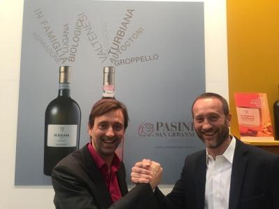 Paolo Pasini mit Steffen Maus