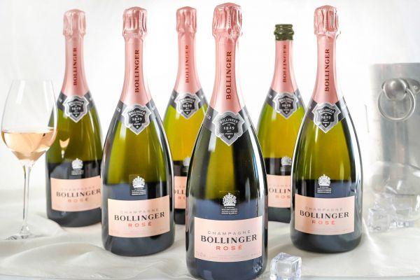Bollinger - 6er-Sparpaket Champagner Rosé Brut