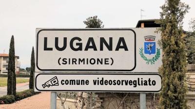 Ortsschild Lugana