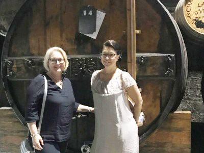 Nicole Retter unterwegs in Portugal