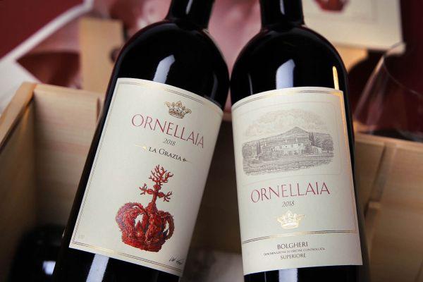 Ornellaia - 6er-Holzkiste Ornellaia 2018 Bolgheri Rosso Superiore