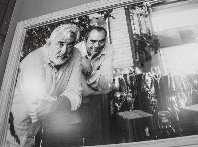 Gianfranco und sein Bruder Chicco von Distillerie  Berta