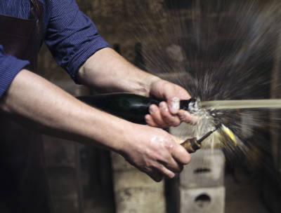 Krack steht für traditionelle Flaschengärung