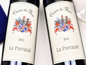 Comte de Thun - La Parrazal 2012