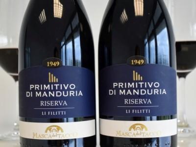 Primitivo di Manduria Riserva 2016 Li Filitti