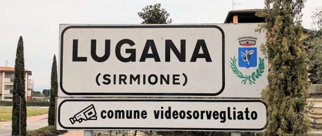 Der Ort Lugana in Sirmione am Gardasee
