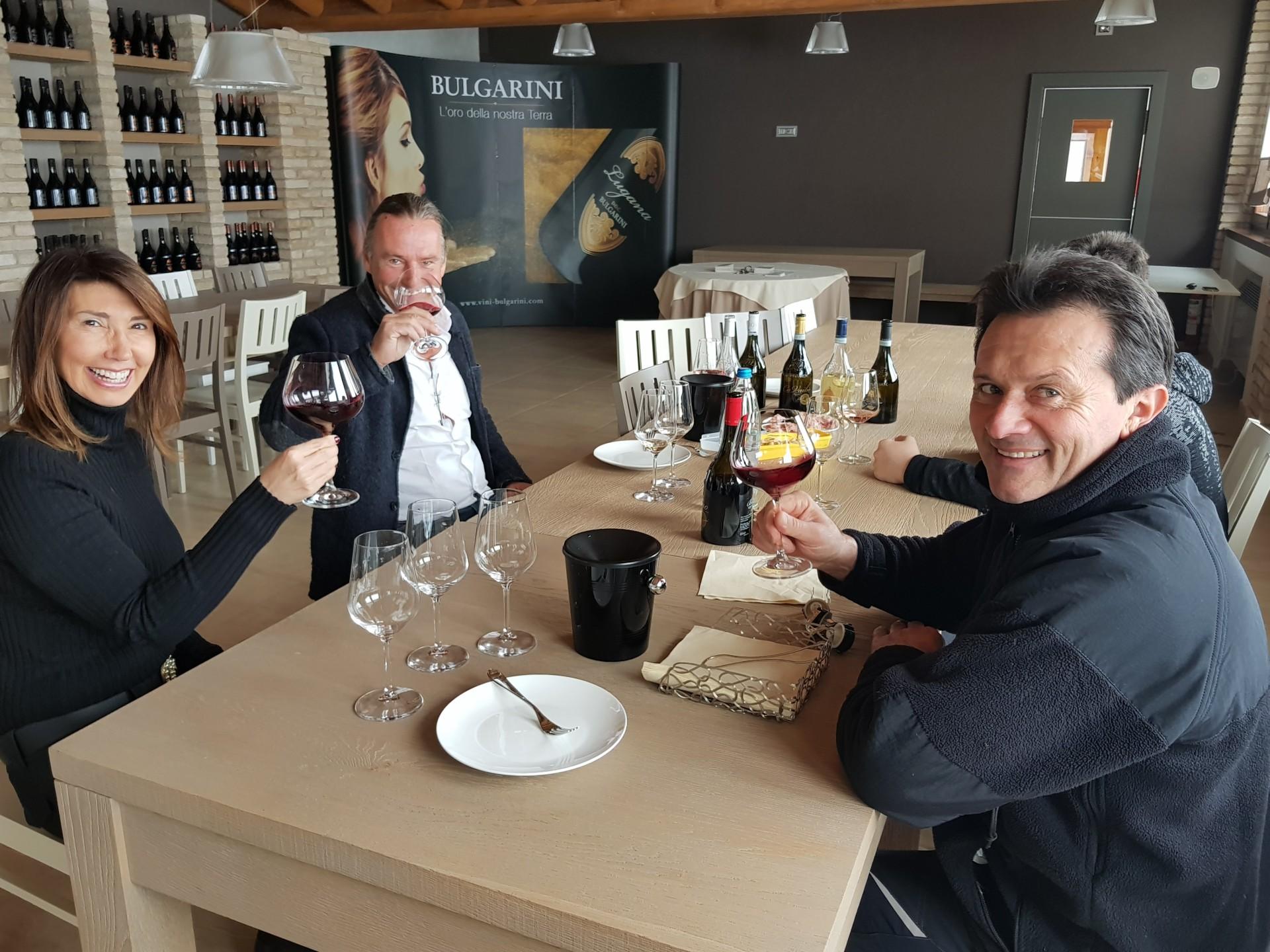 Michael Liebert bei Fausto Bulgarini