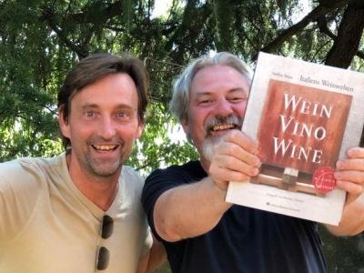 Steffen Maus mit Filippo in Soave