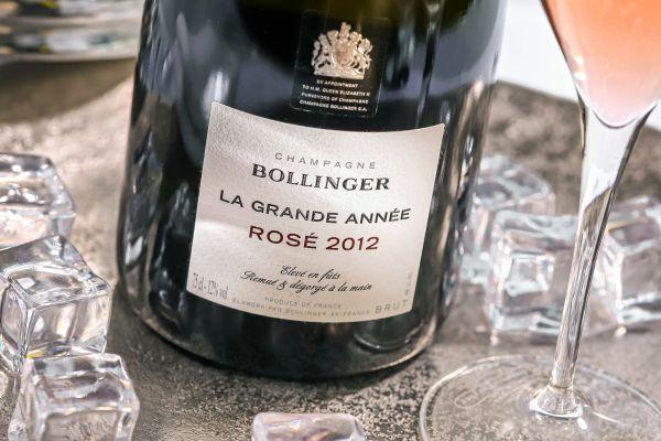 Bollinger - Champagner Rosé 2012 La Grande Année Brut
