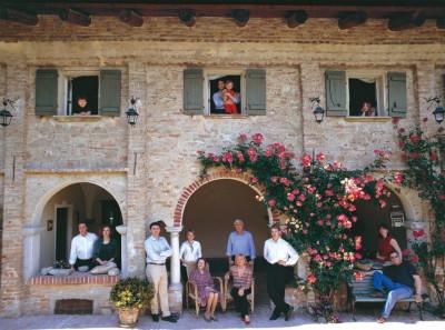 Die Familie Vietti in Castiglione Falletto
