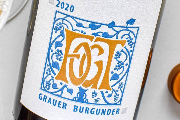Georg Fogt - Grauer Burgunder 2020