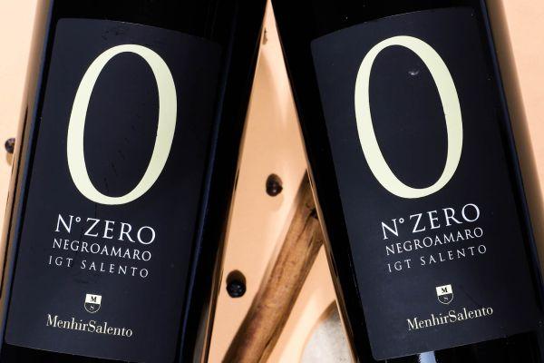 Menhir - Negroamaro 2020 N° Zero