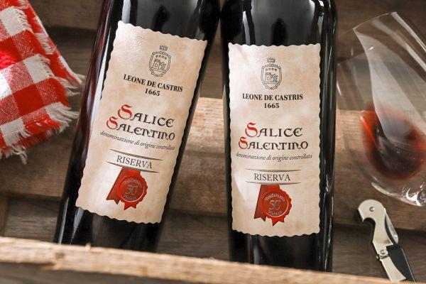 Leone de Castris - Salice Salentino Riserva 2017 Vendemmia 50°