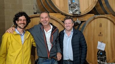 Mit Bino & Alessandro von Borgo dei Trulli