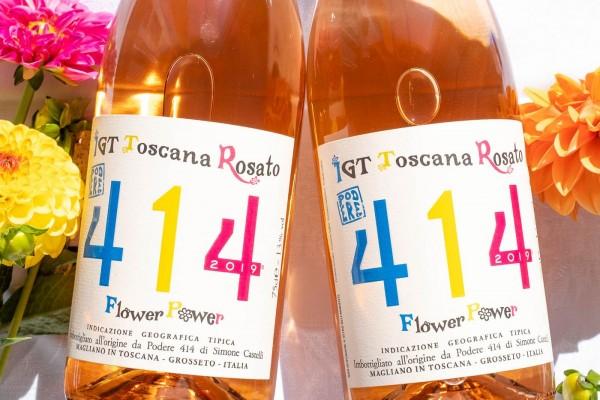 Podere 414 - Toscana Rosato 2019 Flower Power Bio