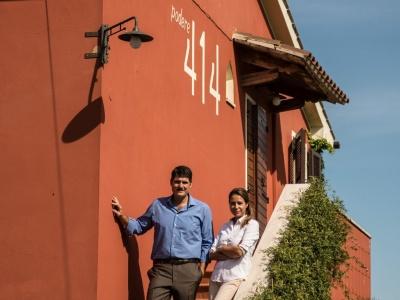 Simone und Mara Castelli von Podere 414
