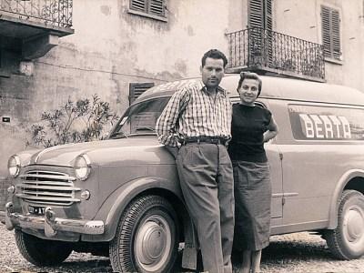 Paolo & Lidia Berta 1954  Distillerie Berta