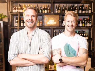 Maximilian Renninger & Richard Schneider - die Wineslingers