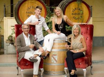 Die Familie Abbona Marchesi di Barolo