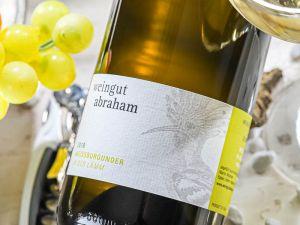 Weingut Abraham - Weißburgunder 2018 in der Lämm