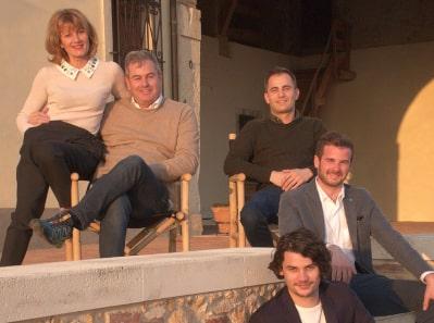 Stefano Inama und seine Familie