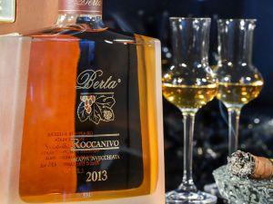 Berta Distillerie - Grappa Roccanivo 2013 in Holzkassette