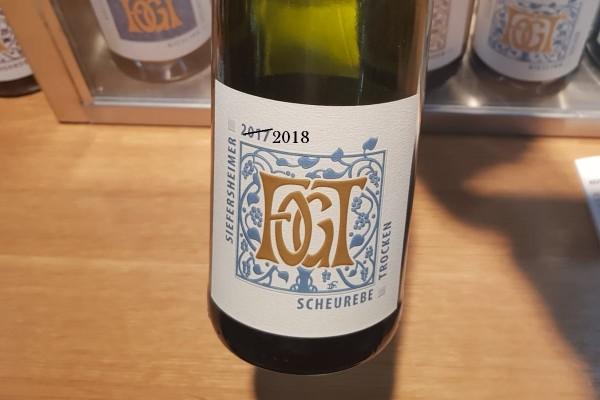 Scheurebe 2018 trocken