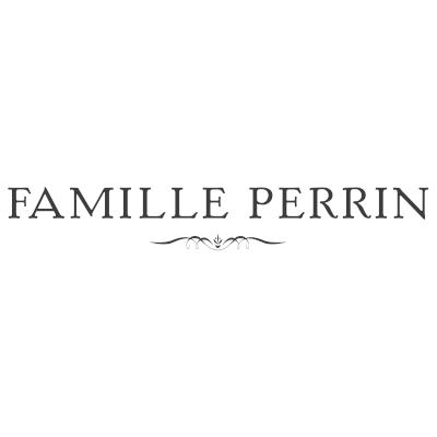 Logo Famille Perrin, Orange