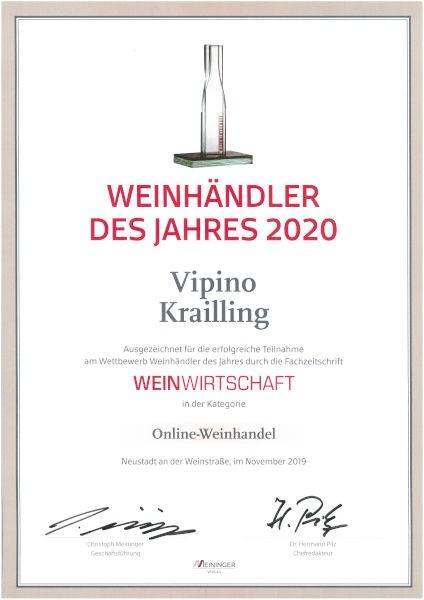 Vipino ist Weinhändler des Jahres