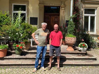 Mit Egon Müller vom Scharzhof