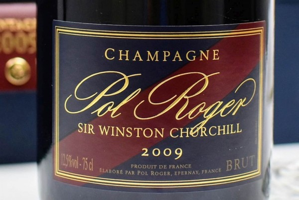 Champagne 2009 Winston Churchill
