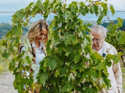 Laura und Fabrizio Bianchi von Monsanto