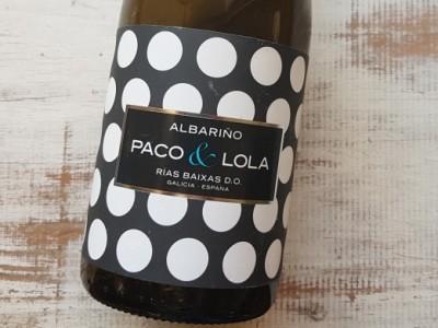 Albarino 2018 Paco y Lola