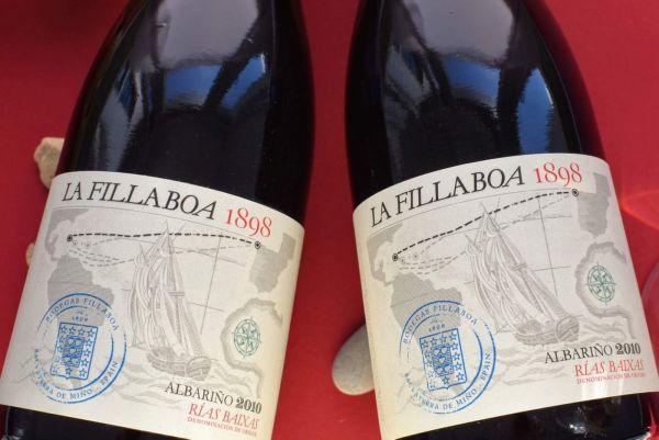 Bodegas Fillaboa - Albariño 2010 Fillaboa 1898