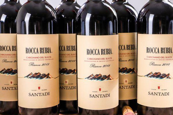 Cantina di Santadi - 6er-Sparpaket Rocca Rubia 2018 Riserva