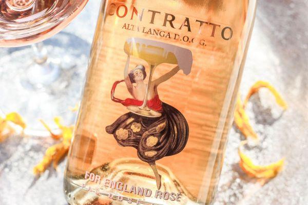 Contratto - Spumante For England Rosé 2015 Pas Dosé