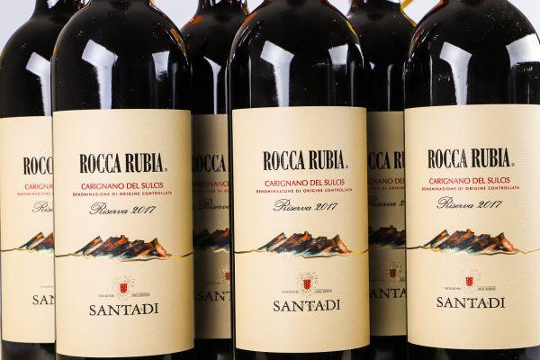 Cantina di Santadi - 6er-Sparpaket Rocca Rubia 2017 Riserva
