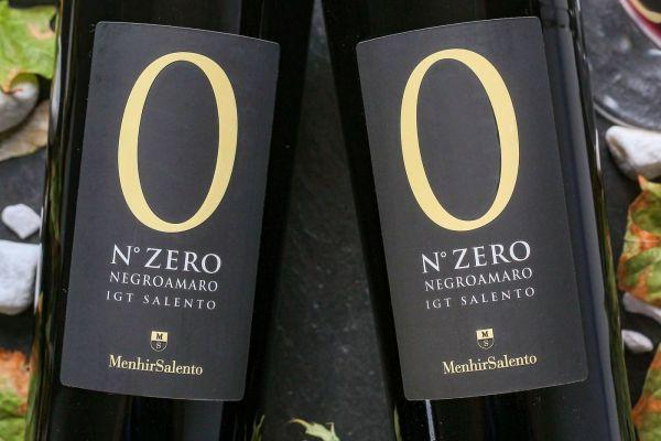 Menhir - Negroamaro 2019 N° Zero