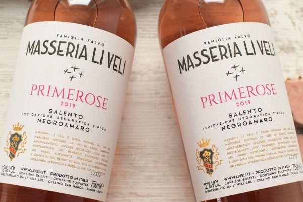 Masseria Li Veli - Negroamaro Rosato 2019 Primerose