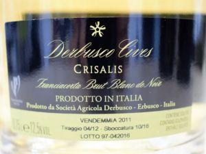 Derbusco Cives - Franciacorta Brut 2010 Crisalis Blanc de Noir MAGNUM