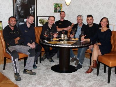 Das Team der Sektkellerei Reinecker