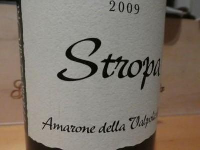 Amarone 2009 Stropa
