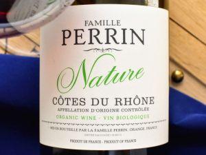 Famille Perrin - Côtes du Rhône Rouge 2018 Nature Bio