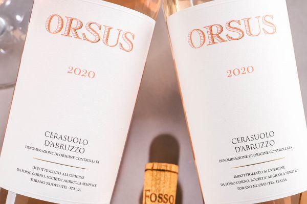 Fosso Corno - Cerasuolo d'Abruzzo Rosato 2020 Orsus