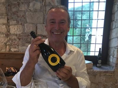 Michael Liebert bei seinem letzten Besuch bei Puiatti