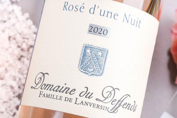 Domaine du Deffends - Provence 2020 Rosé d´une Nuit Bio