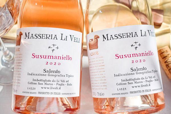 Masseria Li Veli - Susumaniello Rosato 2020 Askos